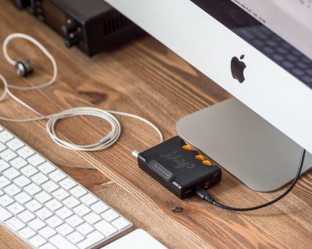 Chord Mojo USB Dac with iMac